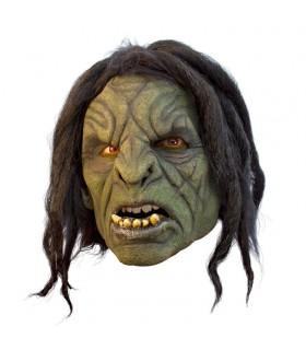 Maschera Orco con i capelli