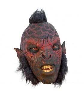Orco Carnal maschera con i capelli