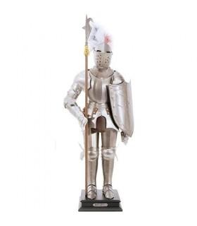armatura medievale, 54 cm.