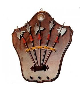 chiavi medievale staffa appesa