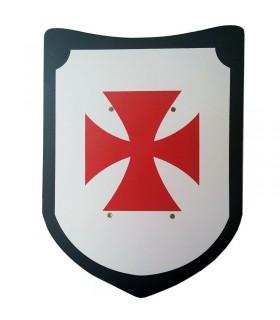 Settembre Templar spada e scudo