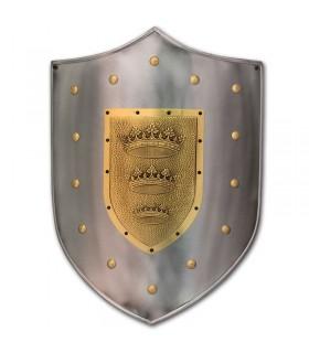 incisa scudo con corona