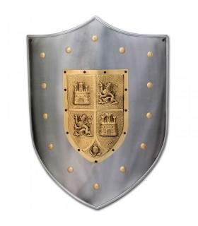 Scudo medievale Castilla y León