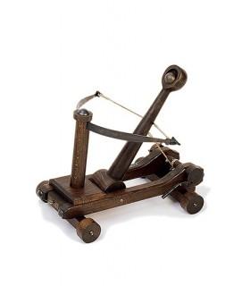 catapulta medievale (31 x 30 x 30 cm.)