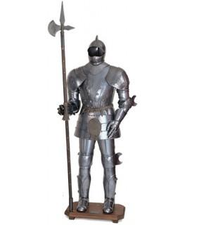Armatura con halberd XV secolo