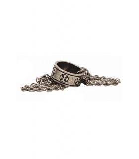 anello ciondolo Templar