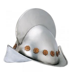 XVI secolo conquistatore spagnolo del casco