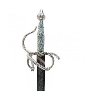 spada Colada Cid con impugnatura cesellata