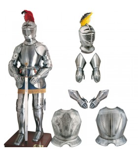 Smooth XVI secolo casco guerriero