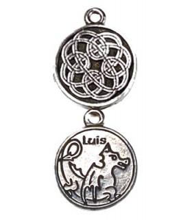 ciondolo Astrologia Celta Luis