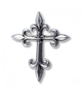 Ciondolo Croce Fiore Lys