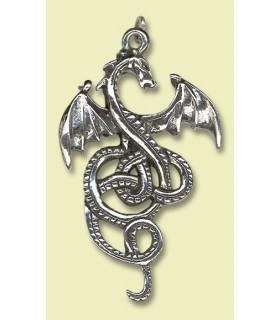 Ciondolo celtica drago Nidhogg