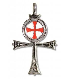 Ciondolo egiziano Croce Templare