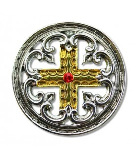Croce Templare engrailed Pendant