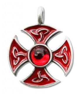 consacrazione Croce Templare Ciondolo
