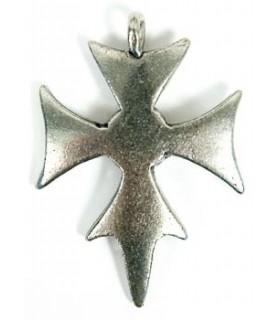 Templar croce pendente 3