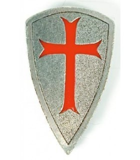 Ciondolo Templar Shield 1