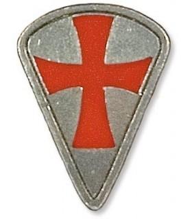 Ciondolo Templar Shield 1