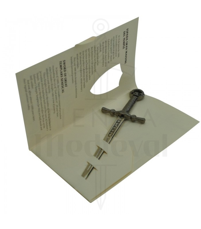 Spada Templare in miniatura