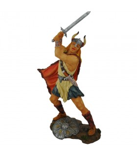 Guerriero del Vichingo con la spada