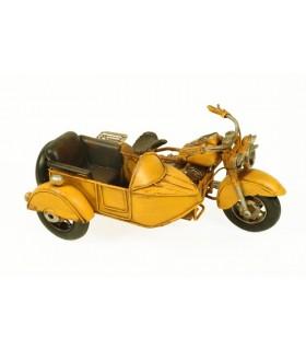 Miniature sidecar gialla