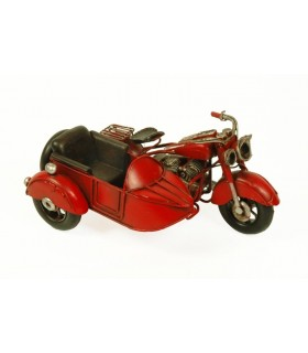 Miniature sidecar rosso