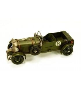 Vecchia macchina da corsa in miniatura