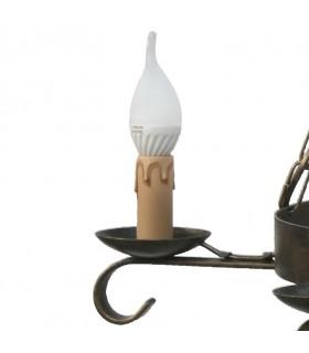 Forgiatura catena di lampada, 5 razze
