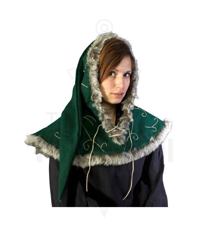 complementi Cappelli-Cappelli Gugels cavi cappuccio medievali verdi. cavi cappuccio  medievali verdi 72a4f077d66