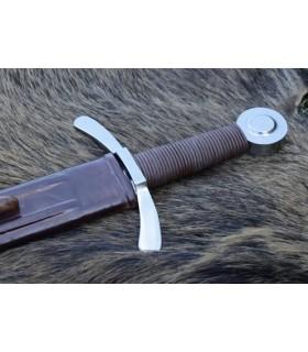 Crusader spada con fodero, funzionale