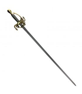 Rapier spada, XVII secolo