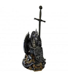spada Excalibur con il drago