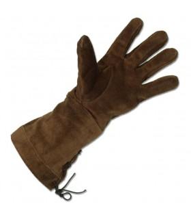 guanti marroni medievali
