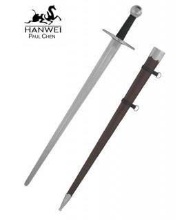 una mano funzionale spada medievale