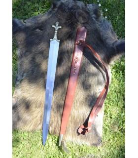 lunga spada celtica con fodero