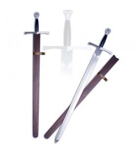 funzionale spada medievale con fodero
