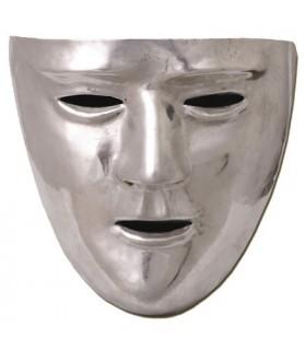 maschera romana, in ottone