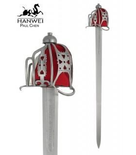 cesto spada inglese, s. XVII-XVIII