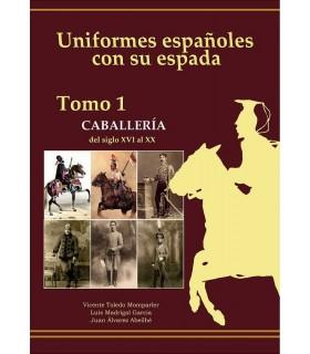Uniformi spagnole con la sua spada. Cavalleria