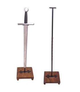 supporto verticale per la spada