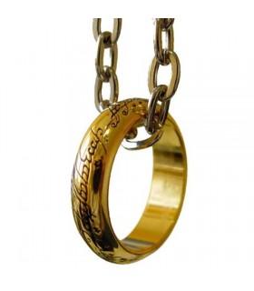 ciondolo anello unico Signore degli Anelli