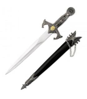 Pugnale Templare con fodero