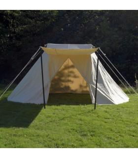 Saxon tenda mercato medievale, 4 x 2,50 mt.