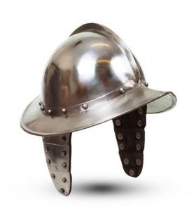 casco Morion con le ali
