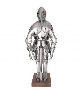Miniature armature medievali, 71 cm.