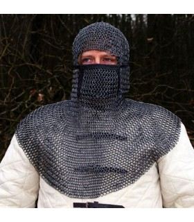 Verdugo cotta di maglia, grandezza naturale