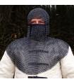 Verdugo legato con la protezione di maglia nera