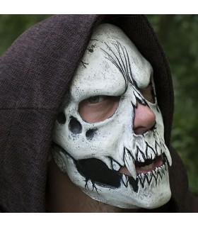 Máscara calavera blanca