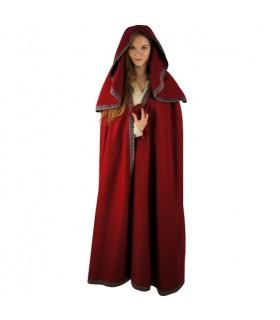Capa de mujer grande con capucha