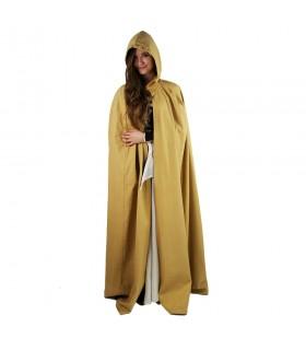 lungo senape strato medievale. cappotto ... 8ad04971665